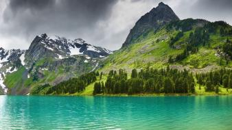 Water mountains landscapes nature outdoors wallpaper