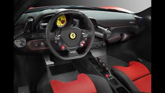 2014 ferrari 458 interior wallpaper