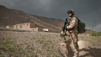 Afghanistan republic patrol nato isaf army taliban wallpaper