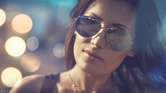 Alexander tikhomirov evening streets sunglasses wallpaper