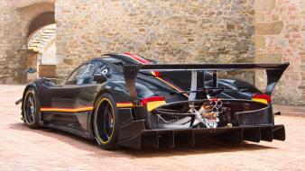Back cars pagani zonda revolution wallpaper