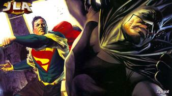 Batman comics superman wallpaper