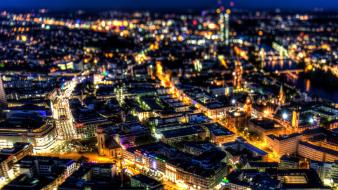 Berlin europe blurred cities city lights wallpaper