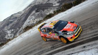 Cars ford rally roads racing wrc monte carlo wallpaper