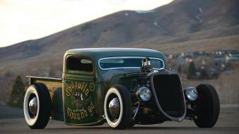 Cars ford rat rod pickup wallpaper