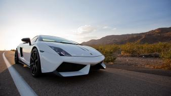 Cars roads lamborghini gallardo lp570-4 performante super wallpaper