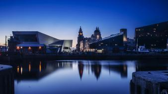Cityscapes liverpool wallpaper