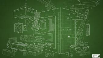 Computers nvidia blueprint geforce wallpaper