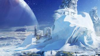 Concept art europa bungie destiny (video game) wallpaper