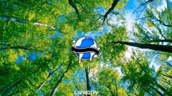 Drum and bass forests liquicity wallpaper