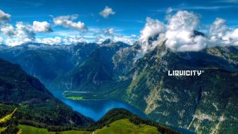 Drum and bass landscapes liquicity wallpaper