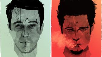 Fight club tyler durden artwork Wallpaper