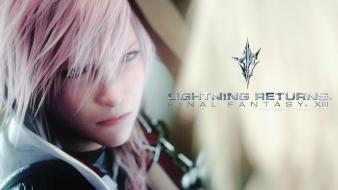 Final fantasy video games xiii lightning e3 wallpaper