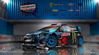 Ford fiesta rs ken block cars wallpaper