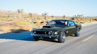 Ford mustang boss 429 car angle view Wallpaper