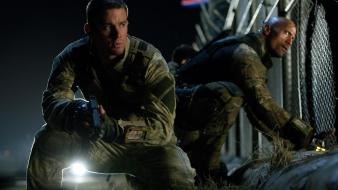 G.i. joe channing tatum dwayne johnson retaliation still wallpaper