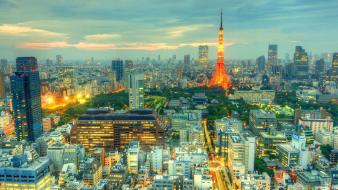 Japan tokyo cityscapes citylights cities wallpaper