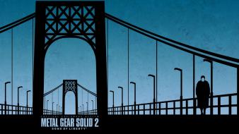 Konami 2 manipulations sons of liberty mgs2 Wallpaper