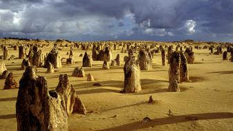 Landscapes desert australia perth rock formations panoramic wallpaper
