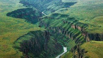 Landscapes nature canyon national geographic idaho rivers wallpaper