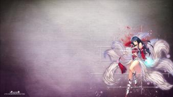 League of legends ahri wallpaper