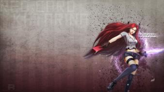 League of legends red card katarina wallpaper