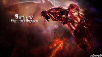 League of legends shyvana wallpaper