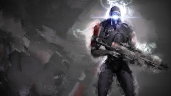 Mass effect 2 3 legion soldiers wallpaper