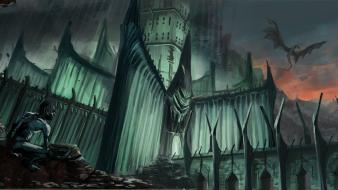 Minas morgul sméagol the lord of rings wallpaper