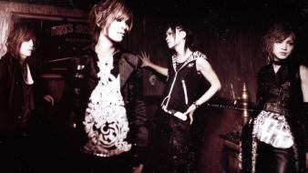 Monochrome visual kei j-rock deluhi wallpaper
