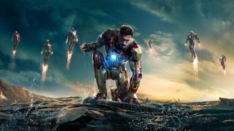 Movies tony stark robert downey jr 3 Wallpaper