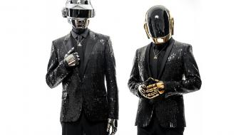 Music daft punk french helmets dj white background wallpaper