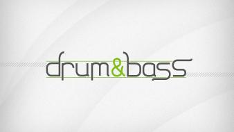 Music drum and bass simple background wallpaper