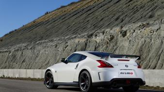 Nismo fairlady z34 japanese rear angle view Wallpaper