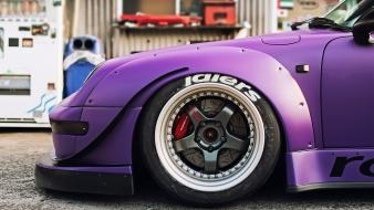 Porsche cars matte colored rauh welt wallpaper