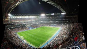 Real madrid stadium santiago bernabeu futbol wallpaper