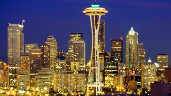 Seattle usa architecture Wallpaper