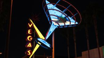 Signs retro vegas neon sign wallpaper