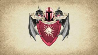 Song ice and fire sigil house martell wallpaper
