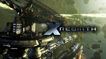 Space station x rebirth wallpaper