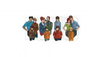 Stan marsh kenny mccormick kyle broflovski randy wallpaper