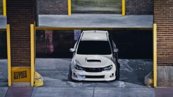 Subaru impreza tuning wallpaper