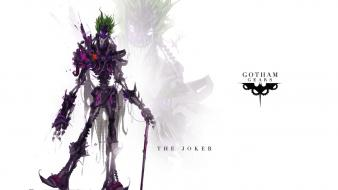 The joker artwork gears monsters robots Wallpaper