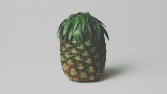 Trees fruits brock pineapple wallpaper