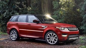 Usa range rover sport front angle view wallpaper