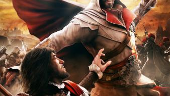 Video games assassins creed brotherhood game Wallpaper