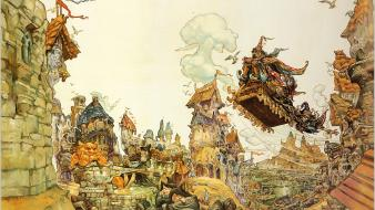Video games discworld terry pratchett wallpaper