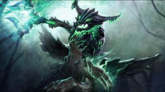 Video games dota 2 outworld devourer wallpaper