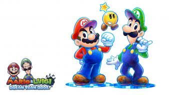 Video games mario super luigi dream team wallpaper