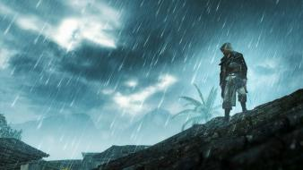 Video games rain still wallpaper